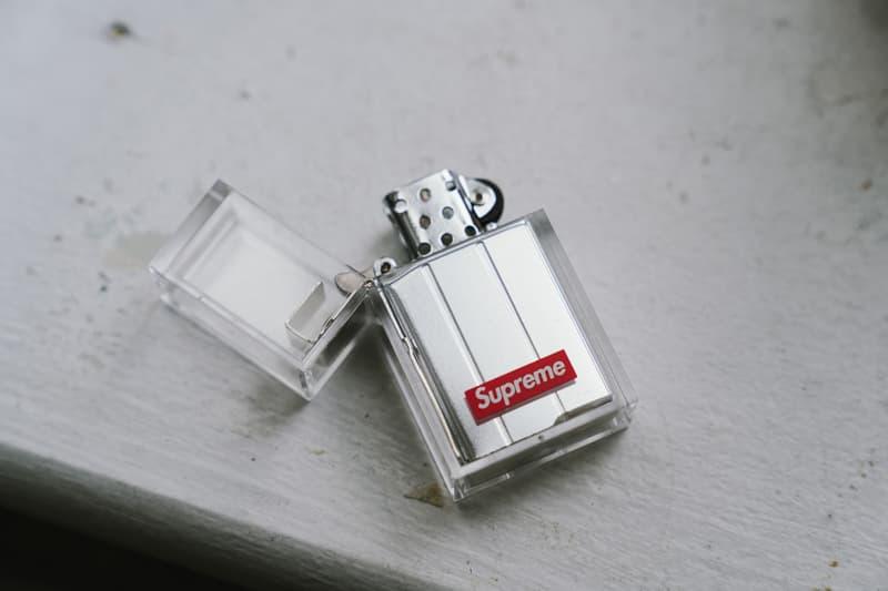 슈프림 2019 가을, 겨울 컬렉션 뉴욕 첫 발매 현장 - 박스 로고 티, 버너폰