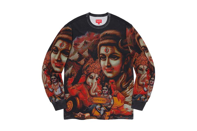 슈프림 2019 FW 컬렉션, 셔츠, 폴로셔츠, 스웨터, 인도 및 아시아