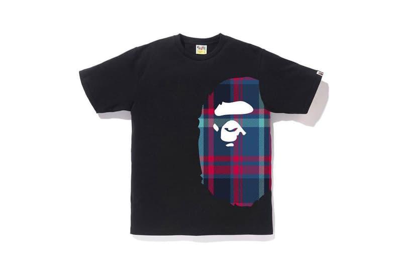 아노락, 후디, 티셔츠, 버킷햇 등 포함한 베이프 '체크' 컬렉션 발매 정보