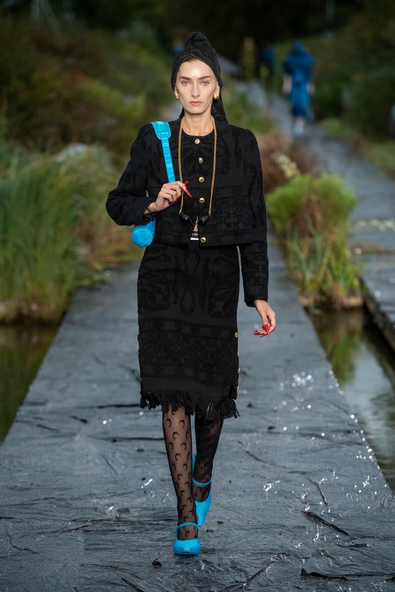 마린 세레 2020 SS 컬렉션, 기후 변화 이후 세계의 종말을 그리다