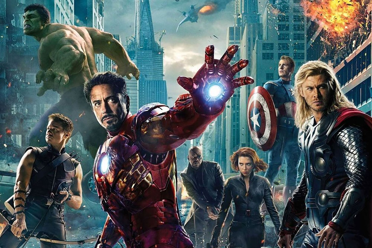 누적 관객수와 매출액으로 매긴, 역대 마블 영화 흥행 순위 어벤져스, 아이언맨, 캡틴 아메리카, 캡틴 마블, 아이언맨, 스파이더 맨, 토르, 가디언즈 오브 더 갤럭시