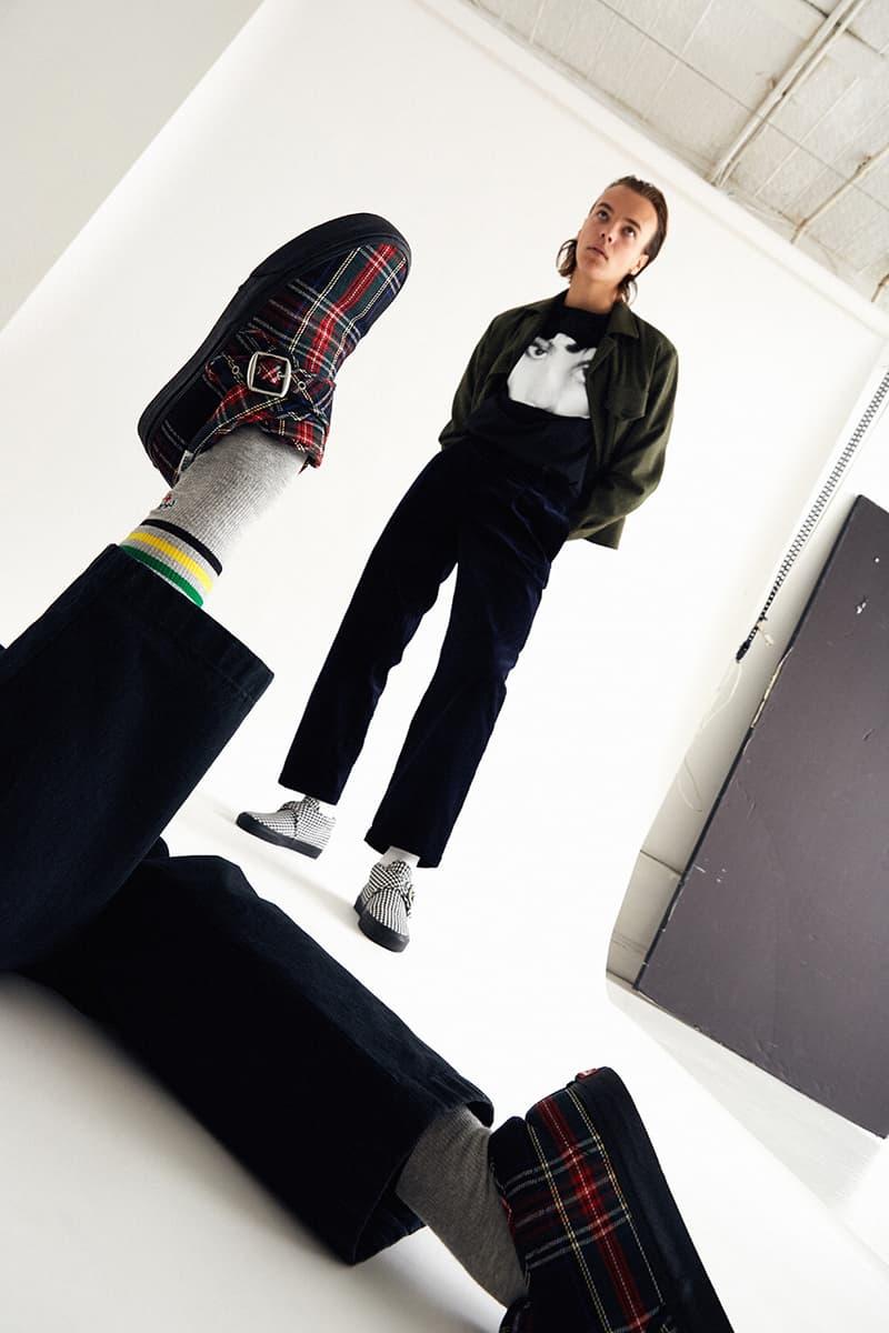 노아 x 반스 2019 협업 스니커 컬렉션, 깅엄 및 타탄 체크 처카
