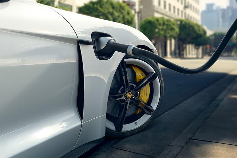 포르쉐 최초의 전기차 타이칸 실물 공개, 전기 스포츠 카, 타이칸 터보 S