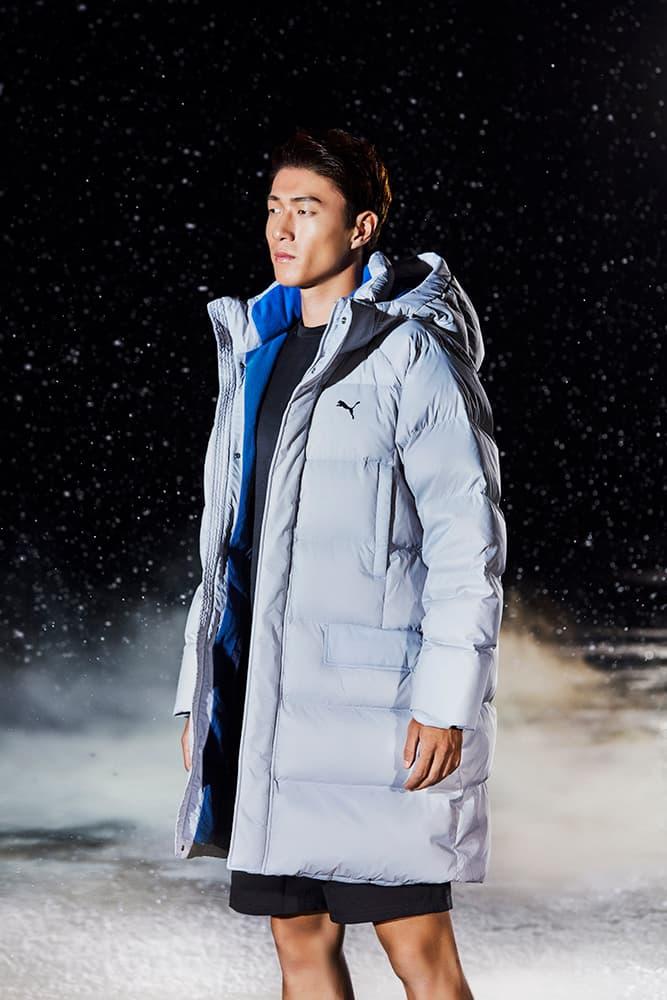 황의조 선수와 함께한 푸마의 윈터재킷 캠페인 2019 겨울