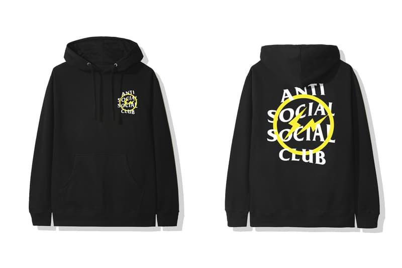 안티 소셜 소셜 클럽 x 프라그먼트 디자인, 티셔츠 및 후디 컬렉션 출시