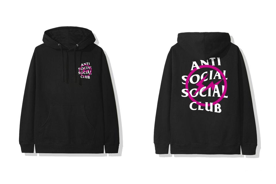 안티 소셜 소셜 클럽 x 프라그먼트 디자인 캡슐 컬렉션 출시