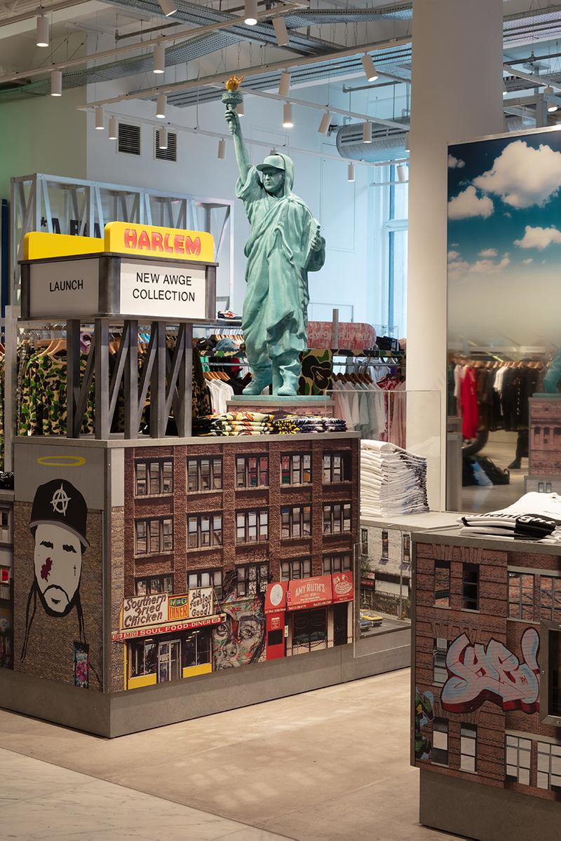에이셉 라키의 AWGE, 셀프리지스 백화점 입점 및 독점 컬렉션 발매 정보