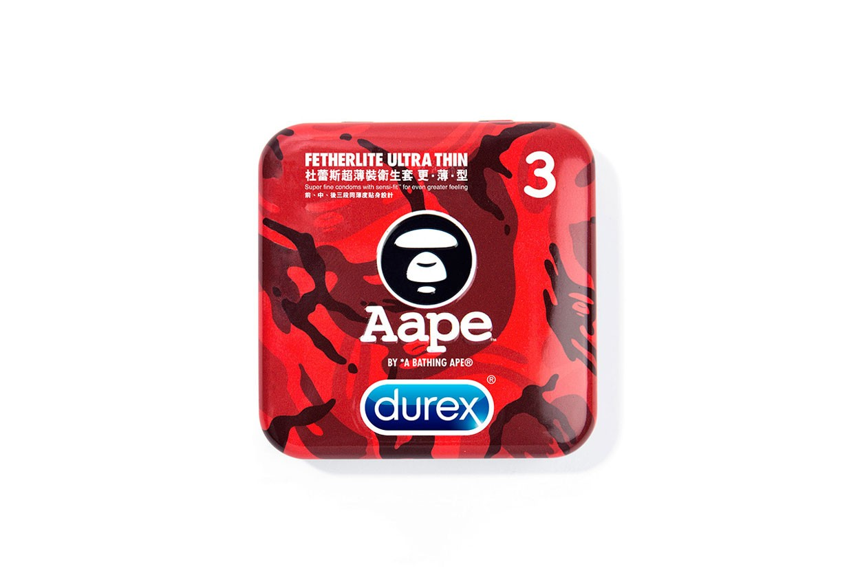 패션 브랜드가 출시한 이색 콘돔 10 - 베트멍, 알렉산더 왕, 립앤딥, 베이프, 키스 해링, 생 로랑