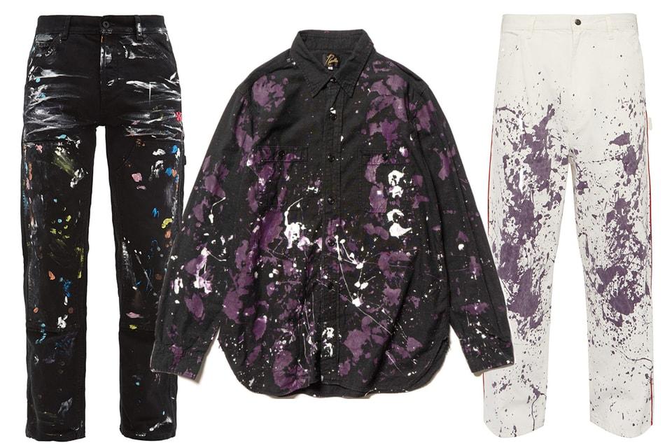 부모님이 싫어하는 페인트 얼룩의 재킷, 팬츠, 셔츠 8