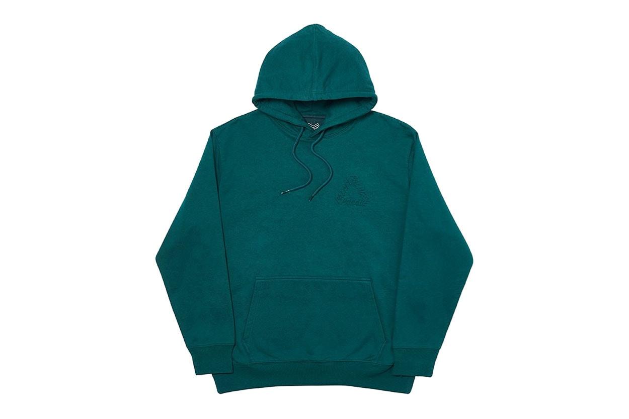 팔라스2019 FW 컬렉션 전 제품, 아노락, 후디, 티셔츠, 볼캡, 버킷햇