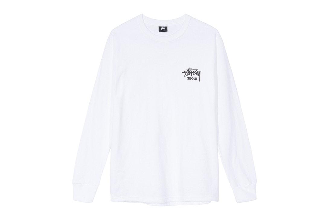 스투시 서울 챕터, 리뉴얼 오픈 기념 익스클루시브 캡슐 티셔츠 및 발매 정보