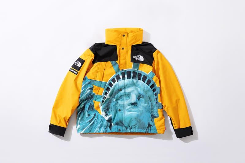 슈프림 x 노스페이스 2019 가을 협업 컬렉션 발매 정보 - 후디, 발토로 재킷, 마운틴 재킷, 티셔츠, 워터프루프 백팩
