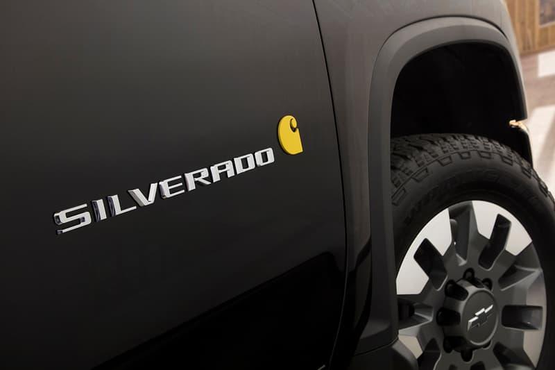 칼하트 x 쉐보레 실버라도 HD 공개, 픽업트럭, 협업, 한정판, 범블비