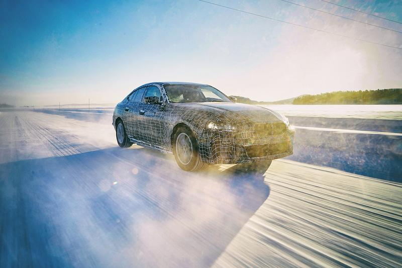 BMW 최초의 전기 세단 'i4' 2020년 출시, 4시리즈, 4도어 쿠페, 전기차