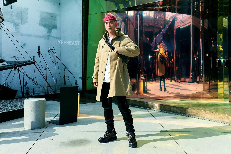 초현실적 경험을 현실로 더 가까이, 버버리의 새로운 스니커 '아서(Arthur)' 론칭 팝업 전시