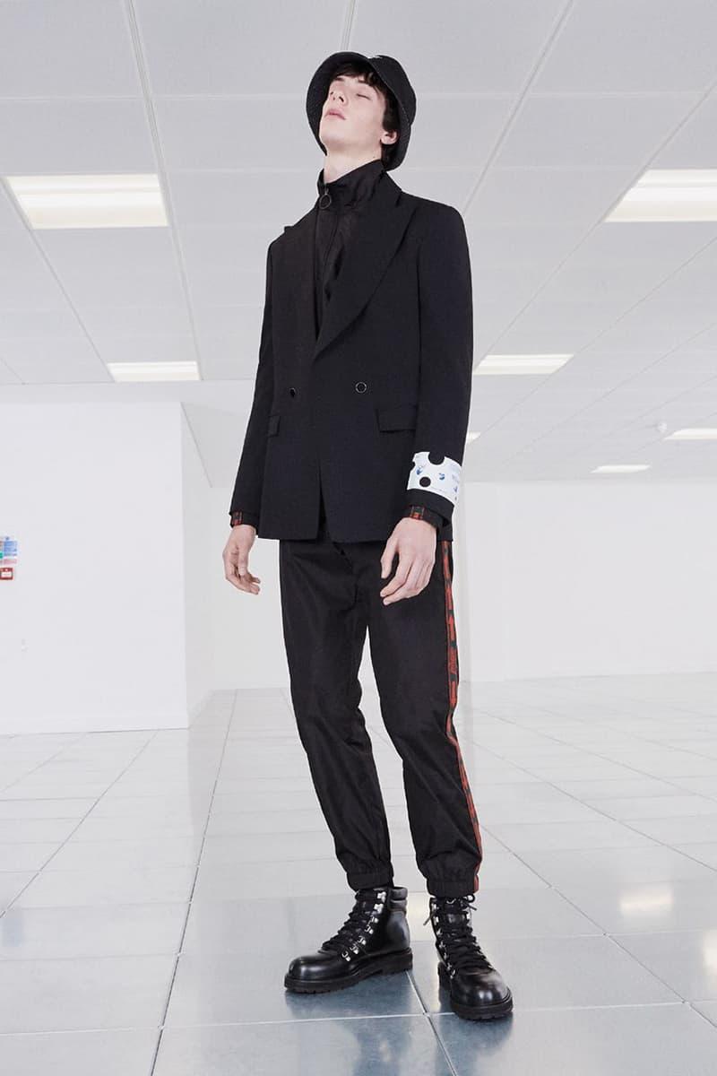 오프 화이트, 버질 아블로, 프리 폴 2020 맨즈웨어 'Pivot' 컬렉션 룩북