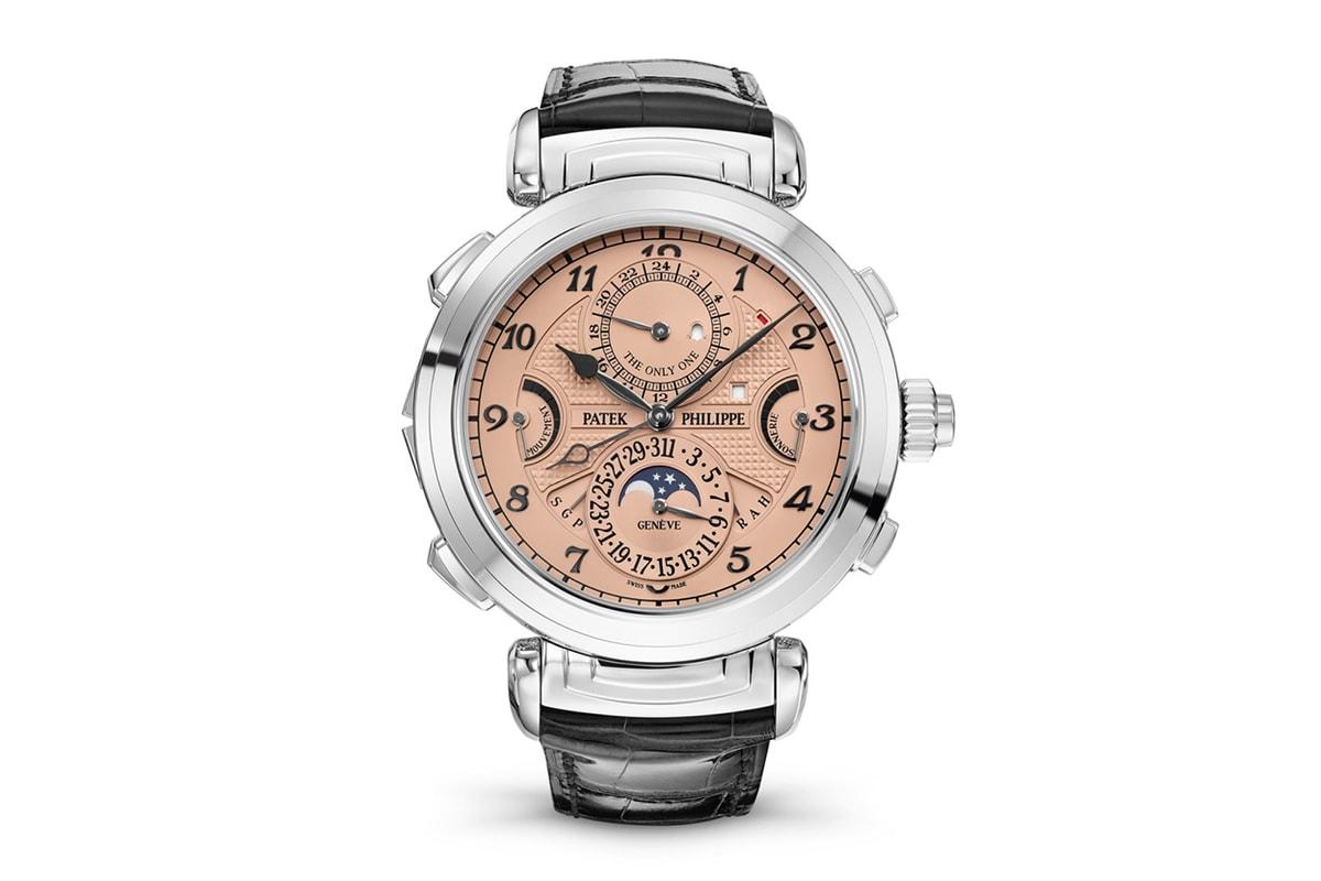 파텍필립이 세상에서 가장 비싼 시계 경매가를 갱신했다