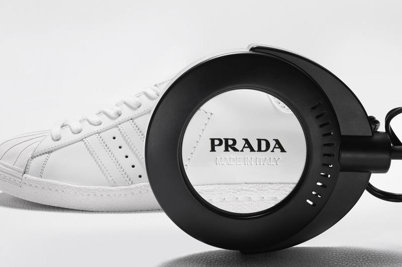 프라다 x 아디다스, 협업 슈퍼스타 및 볼링백 출시일 및 가격 정보, 상세 이미지