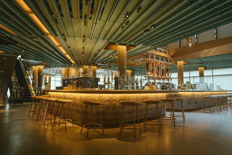 11월 15일 오픈될 세계 최대 규모의 스타벅스 리저브 로스터리 시카고, 내부 들여다보기