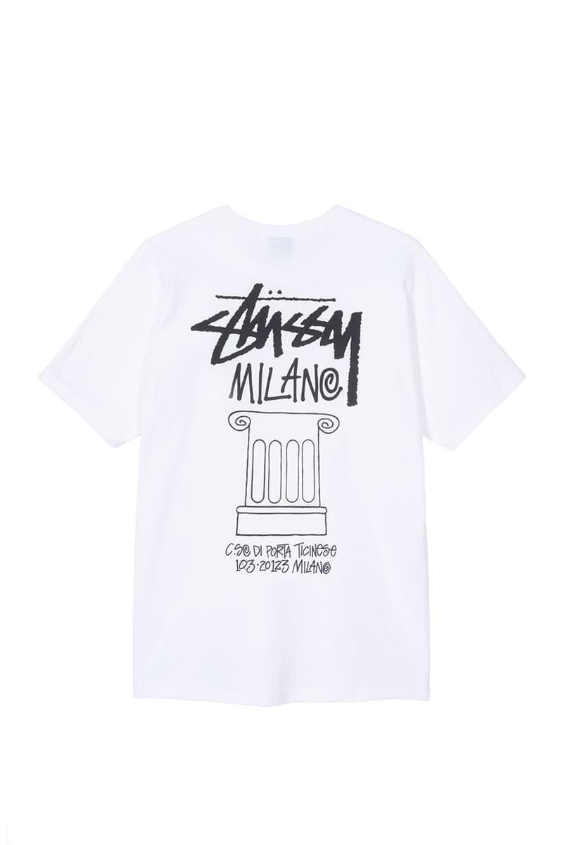 스투시, 밀라노 챕터 론칭 기념 한정 캡슐 컬렉션 출시, 티셔츠