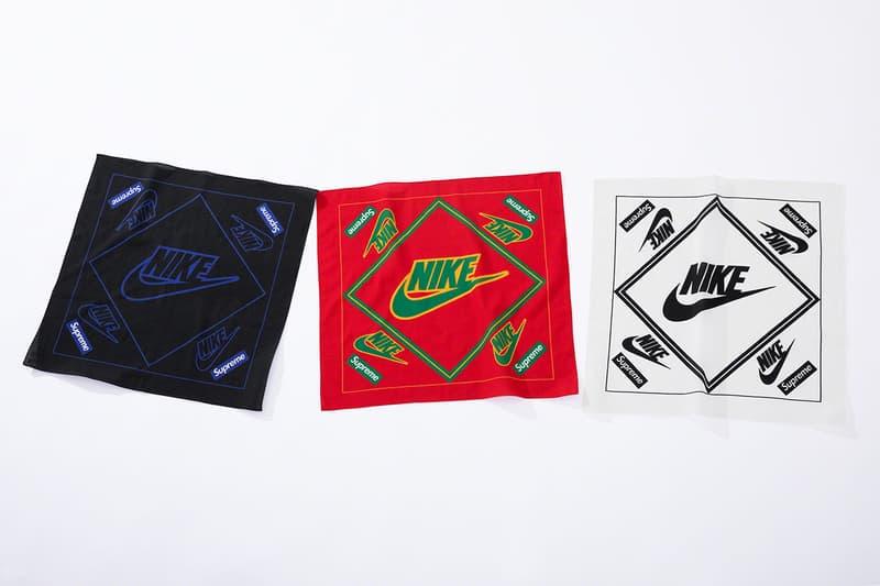레더와 로고를 적극 활용한 슈프림과 나이키의 2019 협업 컬렉션 발매 정보