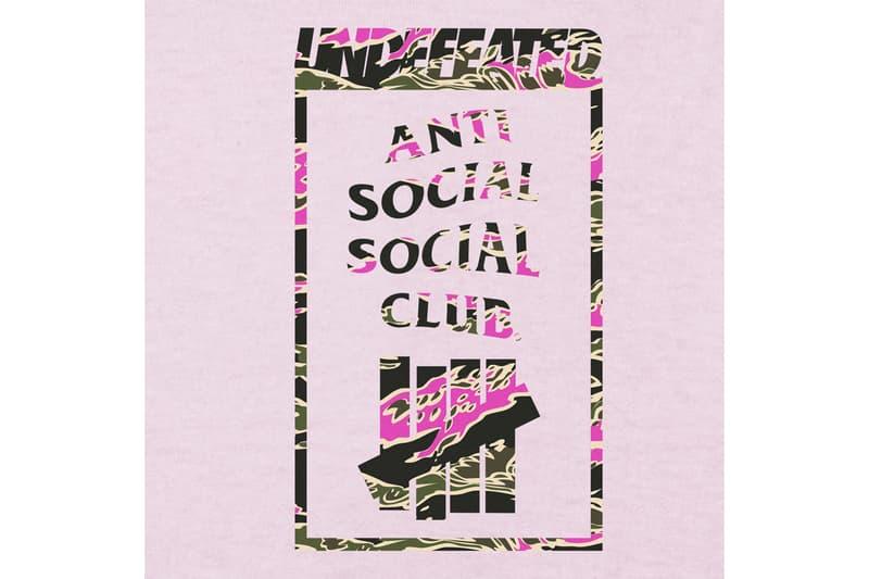 안티 소셜 소셜 클럽 x 언디피티드 협업 컬렉션 공개, 후디, 티셔츠, 비니, 양말, 쉐이커보틀
