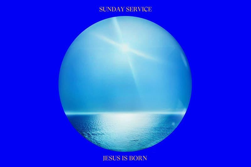 칸예 웨스트 새 앨범 'Jesus Is Born'을 공개, 선데이 서비스 합창단 성가곡