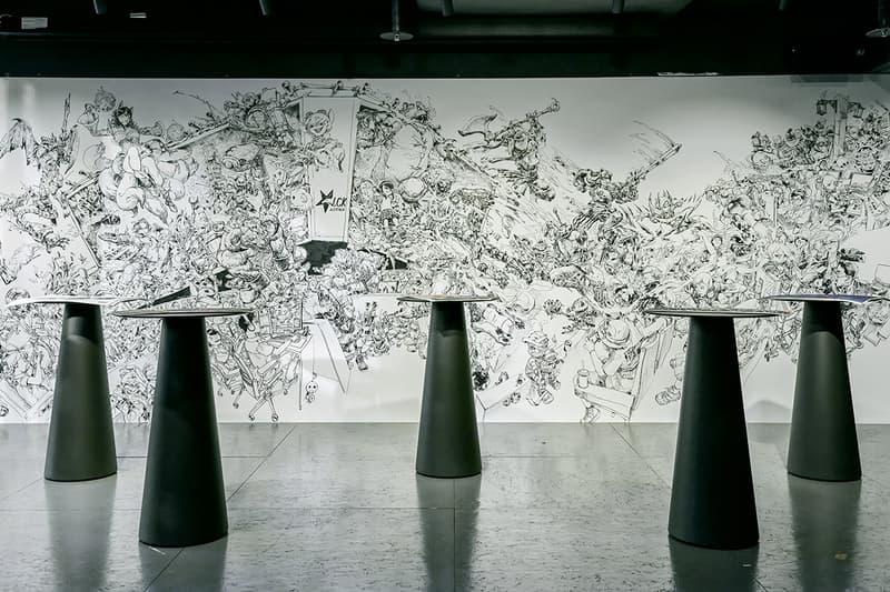 '리그 오브 레전드' 서비스 10주년 기념 롤파크 전시 'LoL INVADE ART', 샘바이펜, 그라플렉스, 김정윤