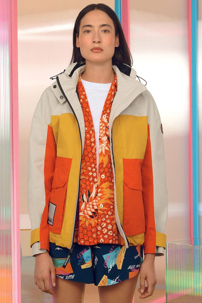 나파피리 2020 봄, 여름 컬렉션 룩북, 이탈리아의 노스페이스