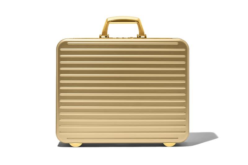 일명 '007 가방'으로 불리는, 리모와 한정판 '아타셰 골드 브리프케이스' 출시 정보