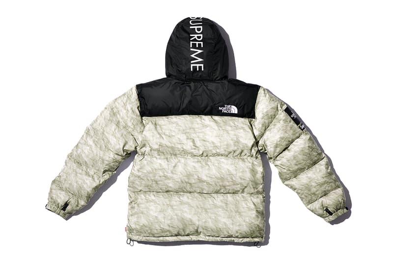 슈프림 2019 가을, 겨울 컬렉션 18주차 드롭 발매 정보, 노스페이스 협업, 눕시 다운 재킷