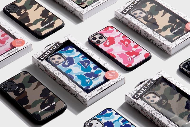 베이프와 케이스티파이의 아이폰 11 시리즈 퍼스트 카모 케이스 발매 정보