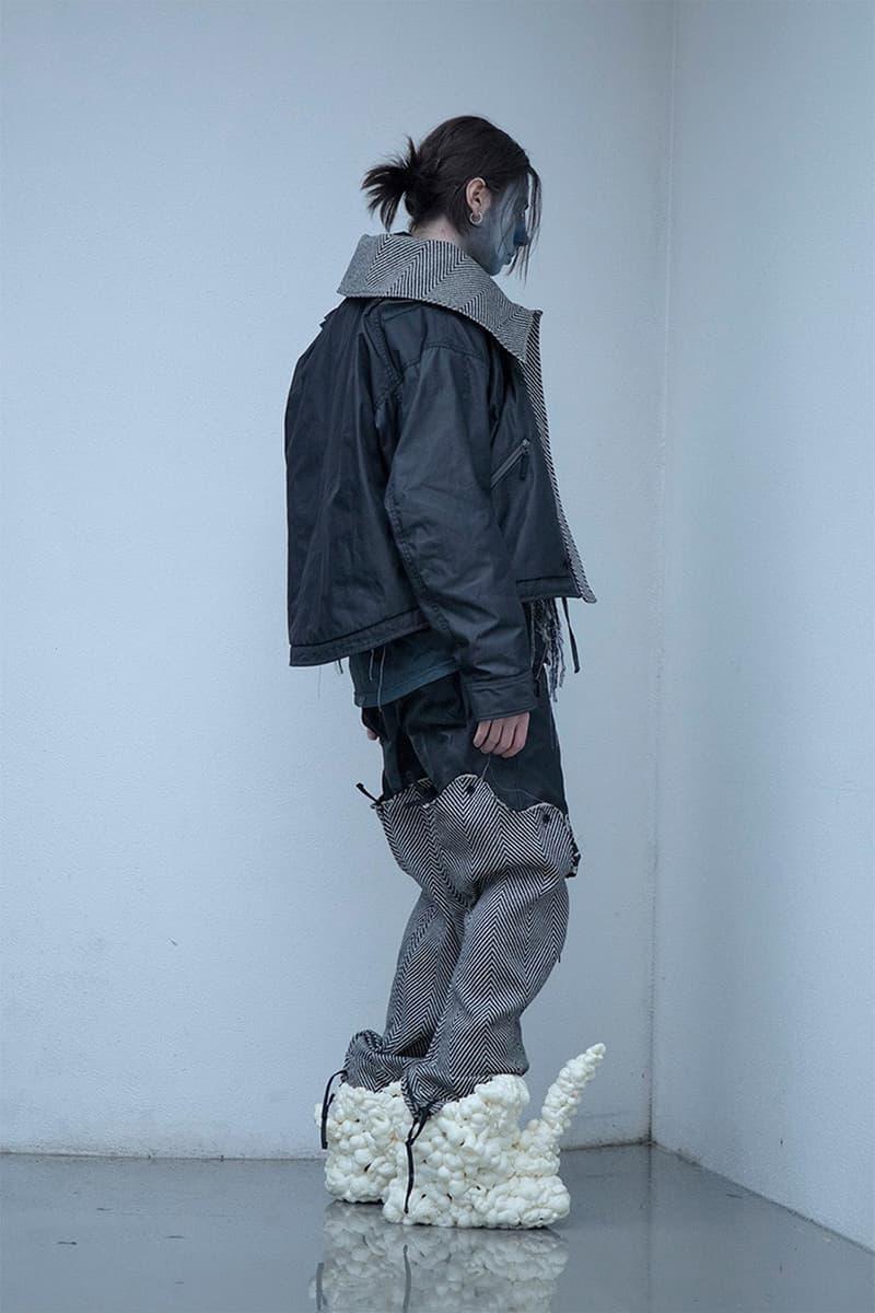 불규칙한 질감의 향연, 블랙멀 2020 가을, 겨울 컬렉션 룩북
