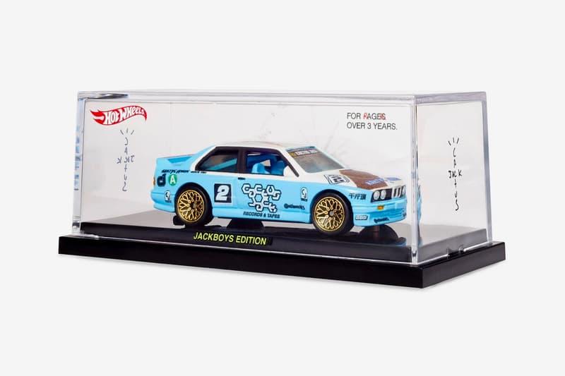 트래비스 스콧, 팬들에게 핫 휠 다이캐스트 자동차 BMW E30 M3 선물, JACKBOYS, 기브어웨이, 굿즈