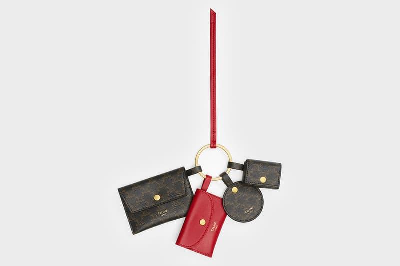 셀린, 설날 기념 'Lunar New Year' 캡슐 컬렉션 발매, 에디 슬리먼, 클러치, 지갑, 카드 홀더, 멀티키링