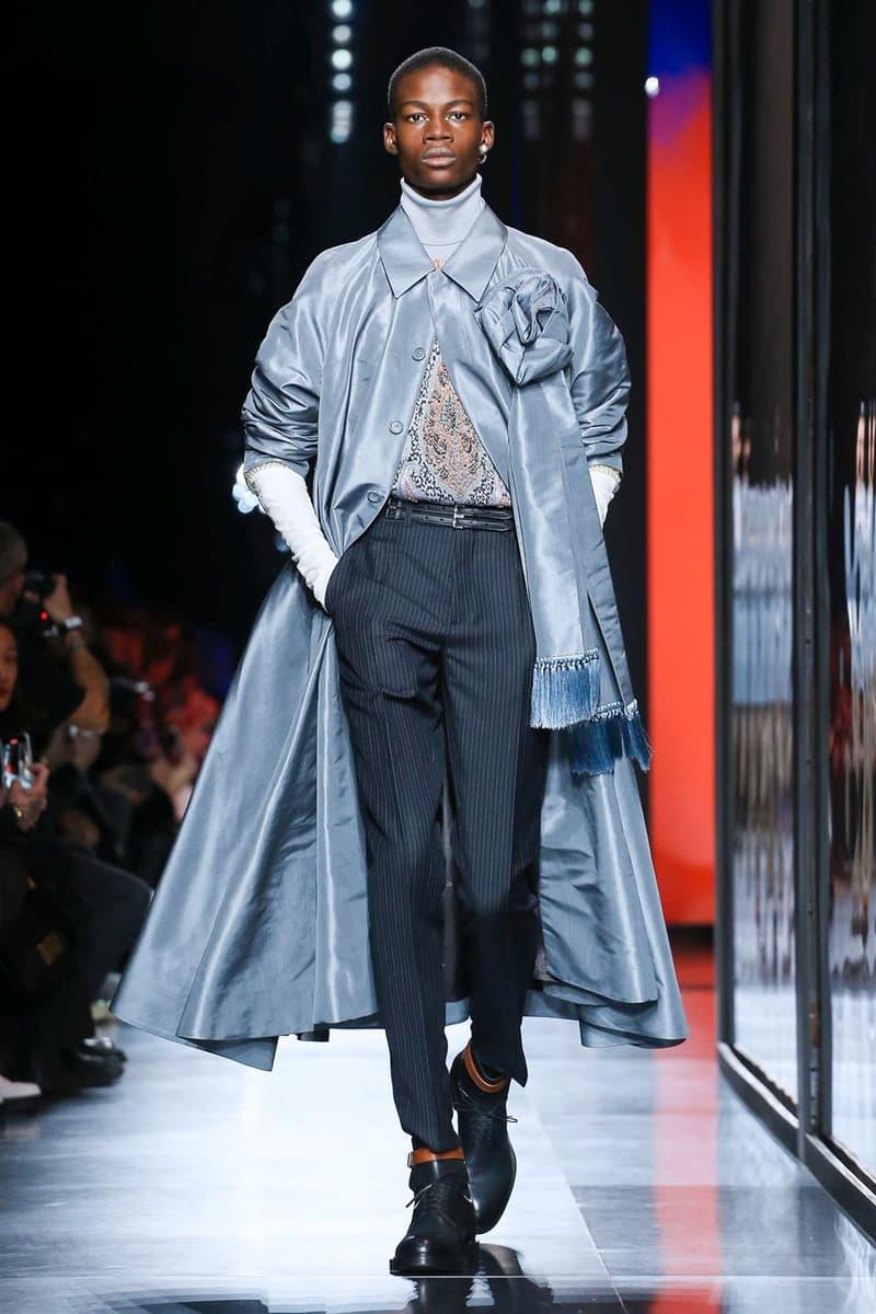 주디 블레임에 대한 헌사, 킴 존스의 디올 2020 가을, 겨울 컬렉션 & 백스테이지