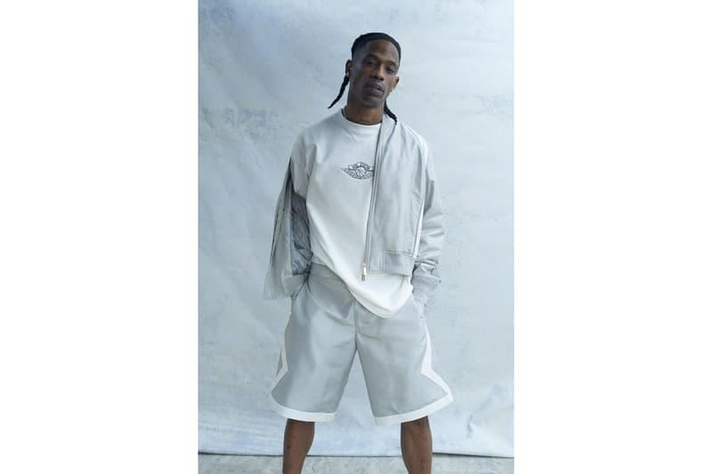 디올 x 조던 x 트래비스 스콧의 '에어 디올' 캡슐 컬렉션 공개, 나이키, 에어 조던 1 로우, MA-1 재킷