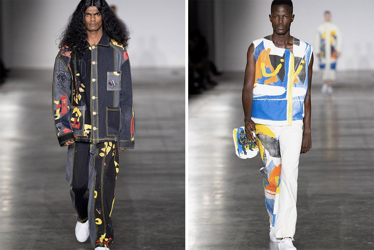 2020 가을, 겨울 런던 남성 패션위크 베스트 컬렉션 5, 베서니 윌리엄스, 비앙카 샌더스, 이스트우드 단소, 로빈 린치, 스튜디오 ALCH