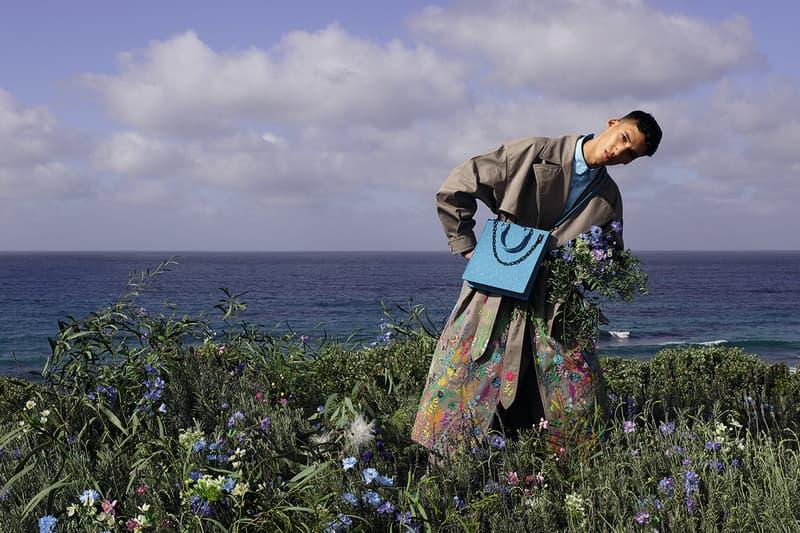 모로코 해변을 담은 루이 비통 2020 SS 컬렉션 캠페인 '풋프린트'