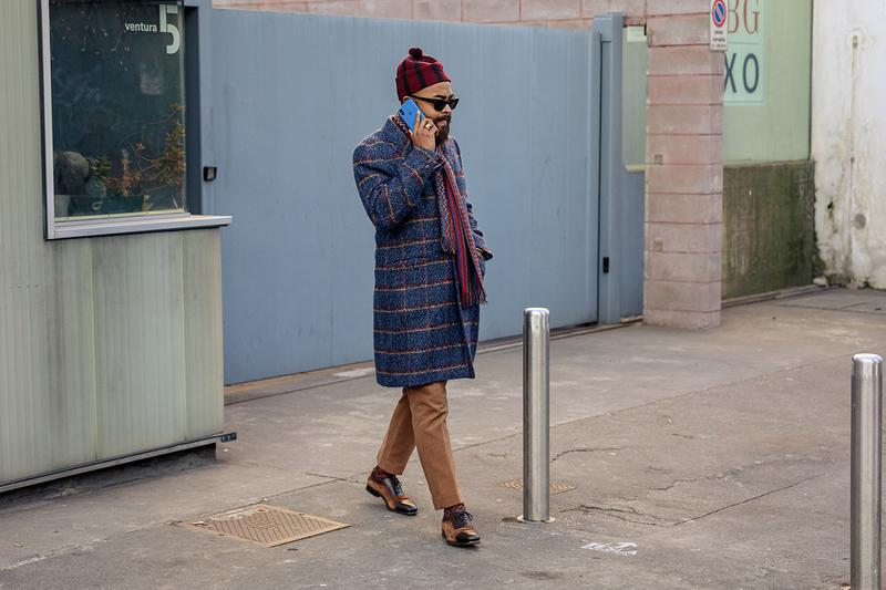 #Streetsnaps: 2020 가을, 겨울 밀라노 남성 패션위크