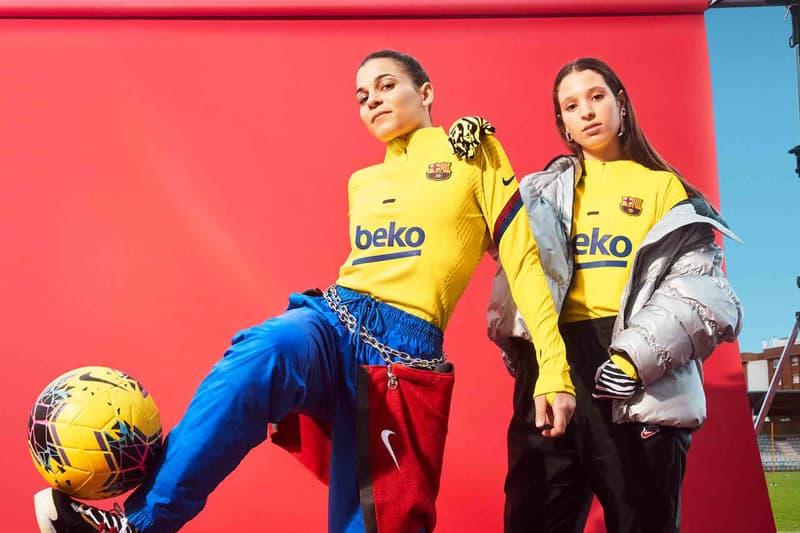 나이키 베이퍼니트로 완성한 FC 바르셀로나 2020 트레이닝 유니폼, 리오넬 메시, 루이스 수아레즈