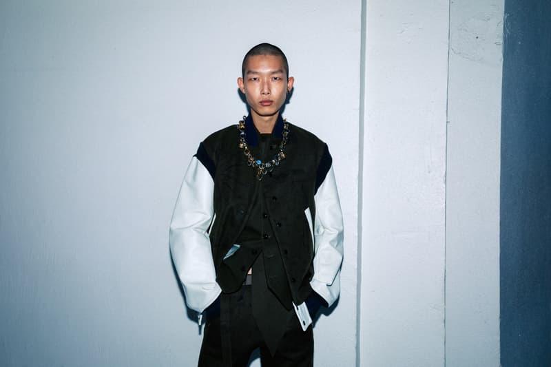 사카이 x 나이키 협업 페가수스 베이퍼와플 공개된, 2020 가을, 겨울 컬렉션 백스테이지, 파리 패션위크