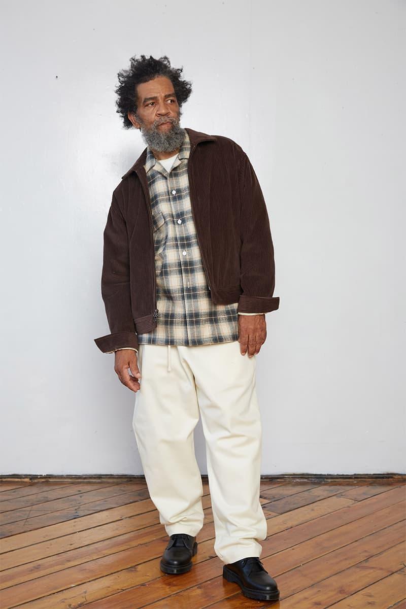 s.k. 매너 힐 2020 가을, 겨울 컬렉션 룩북, 유기농 면, 뉴욕 기반