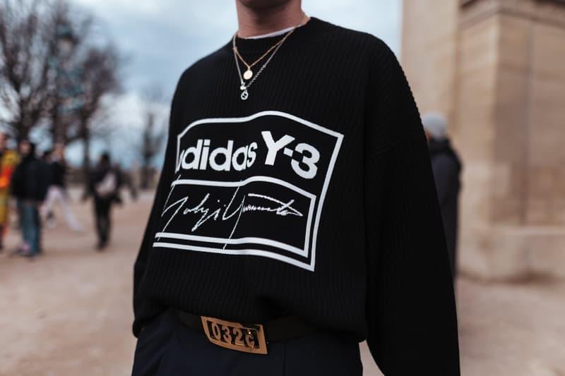 2020 가을, 겨울 파리 남성 패션위크 스트리트스냅, streetsnap, 루이 비통, 나이키, 오프 화이트, 버질 아블로, 협업 스니커
