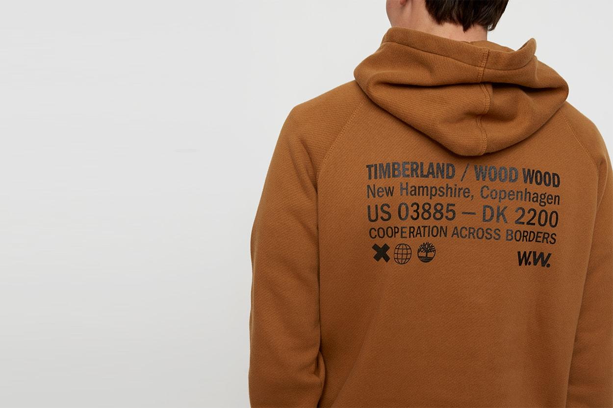 팀버랜드x우드우드 캡슐 컬렉션 출시