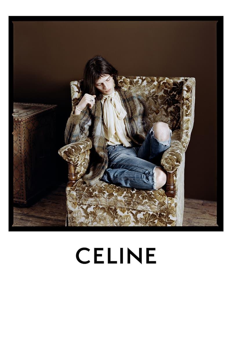 에디 슬리먼의 셀린 2020 봄, 여름 컬렉션 캠페인 'Portrait of a Performer'