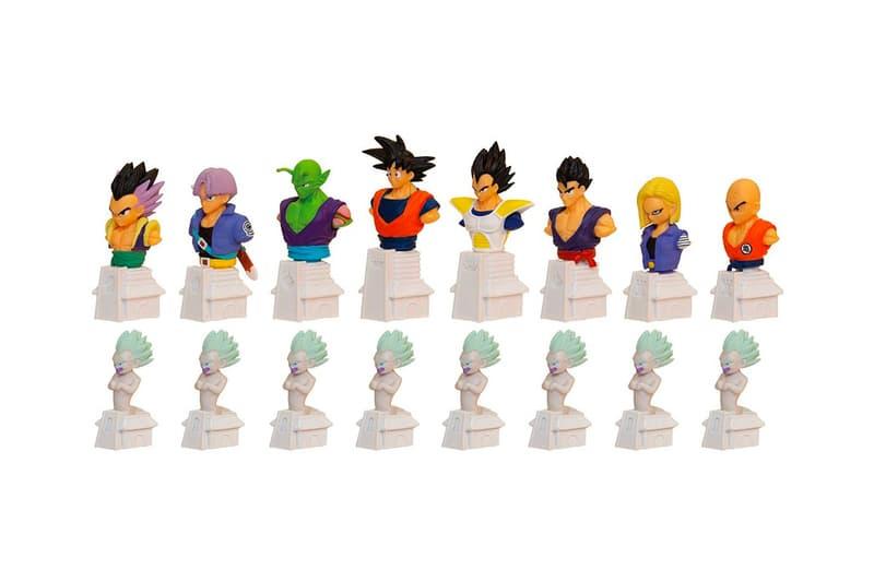 '드래곤볼 Z' 캐릭터 체스 출시, 오공, 오반, 베지터, 프리더, 트랭크스 등