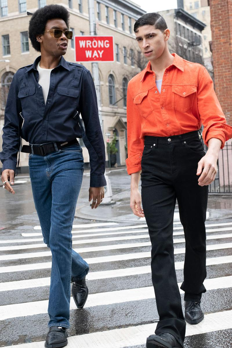 헬무트 랭 2020 가을, 겨울 컬렉션, 뉴욕 패션위크, 선일 굽타