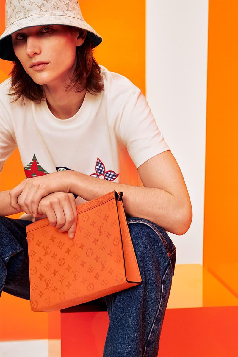 버질 아블로의 루이비통, 새로운 색조의 타이가라마 컬렉션 공개