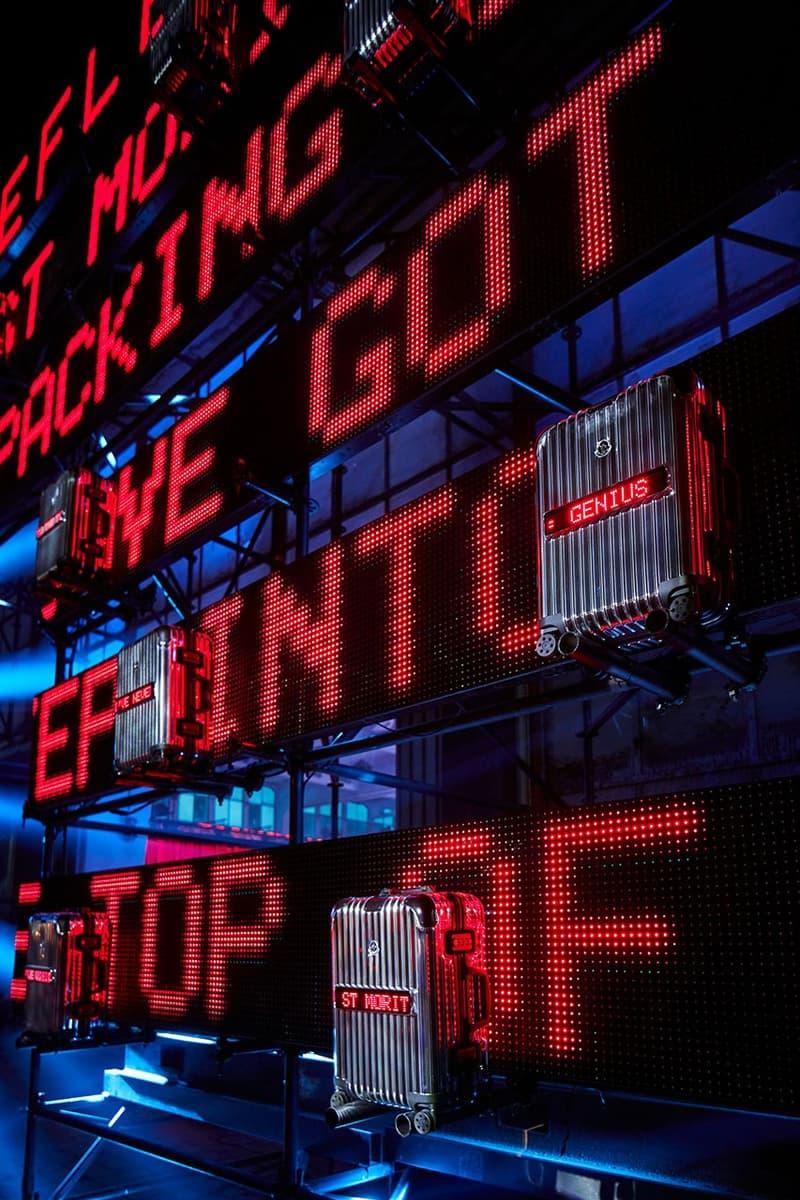 몽클레르 지니어스와 리모와의 최첨단 협업 슈트케이스 'REFLECTION'